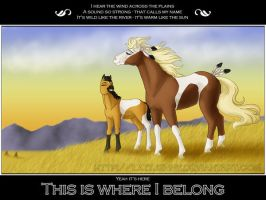 This is where I belong... by LazyJenny