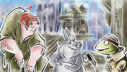 News Flash - Hugo and the Hunchback by Weischede