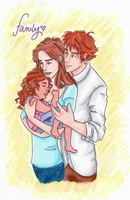Famille de Cullen colored by picklelova
