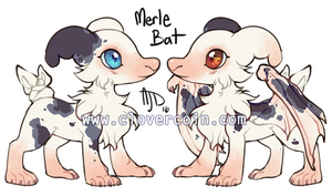 OTA: Merle Batty Pillowing [CLOSED] by CloverCoin