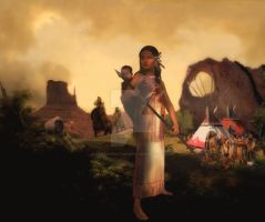 Book and movie contest entry : Book Sacajaweja by SlichoArt