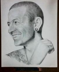 Chester Bennington by AmirKameron