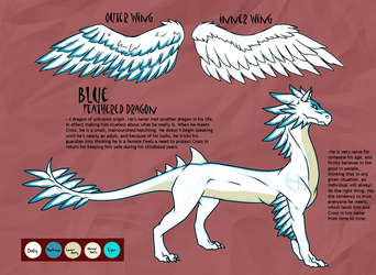 Character Reference: Blue by RedtheGamr