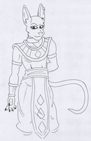 Dragon Ball: Beerus by The-Resident-Jinx