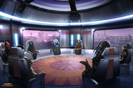 Star Wars The Old Republic - Jedi Council by Hideyoshi