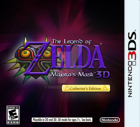 Majorasmask3ds by ziadzdx