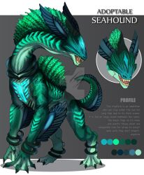 ADOPTABLE Close : SEAHOUND [Auction][paypal] by SmileykittyAdopt