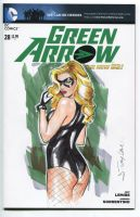 Black Canary by Artfulcurves