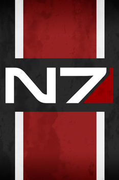 N7 iPod iPhone Wallpaper by uglynoodles