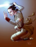 Rey ForceAwakens by kdconverse