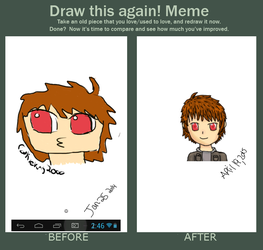 Improvement meme by Cookieking2000