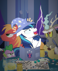 GAME OVER, EVERYPONY by dm29