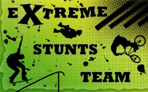 extreme stunts team by neethea