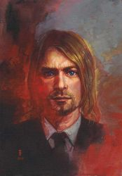kurt cobain 2011 by iVANTAO