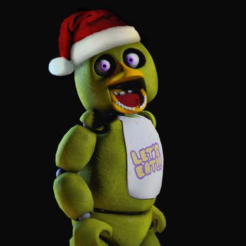Christmas Chica DeviantID by gold94chica