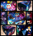 Villains chest by WormholePaintings