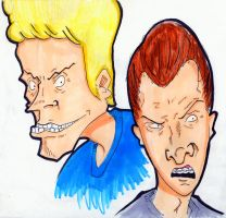 Beavis and Butthead by Mrs-Niccals