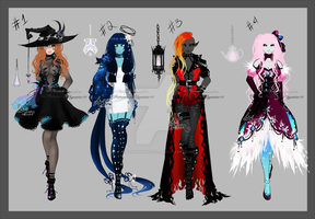 Soul Collector Adopt Set lll [Closed] by Marushi-Dracul