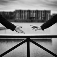 Reaching out by Peterix