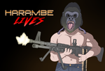 Harambe LIVES by OllieLamontagne