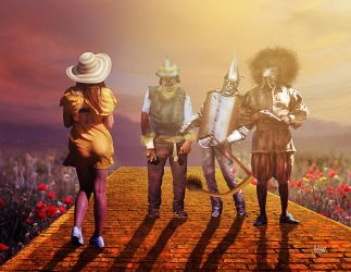 The Wizard of Oz by Julianez