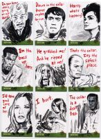Night of the Living Dead sketch cards 2 by tdastick