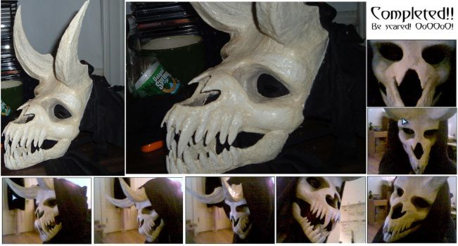 Undead Demon Costume - DONE by Lizard-of-Odd
