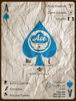 Ace Cafe Poster by houssamica