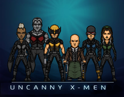 Uncanny X-Men (Marvel Earth-61619) by LoganWaynee