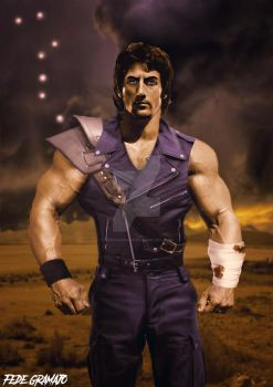 Kenshiro Live Action by Fedegramajo