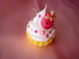 Bananaberry Deco Cupcake by Lustfulwish
