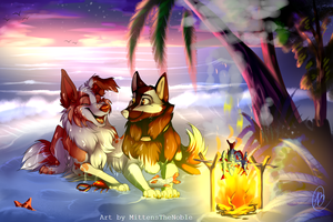 Twilight Fishing With Kevin by MittensTheNoble