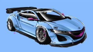 LB Works NSX by Spoonboy
