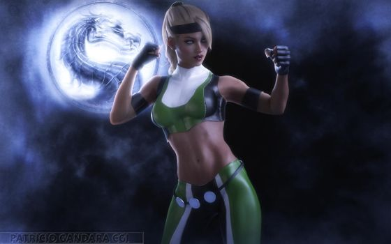 Sonya Blade Wallpaper by PGandara