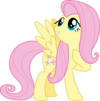 Vector 17} Fluttershy by pixiepea