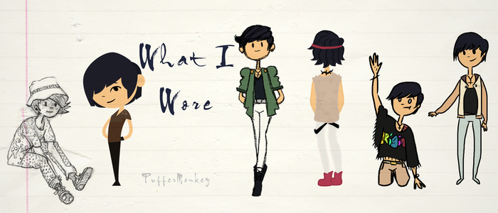 What I Wore by PufferMonkey
