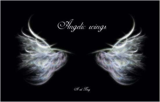 Angelic wings by priesteres-stock