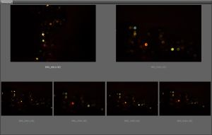 Bokeh Drops Night Unrestricted by ManicHysteriaStock