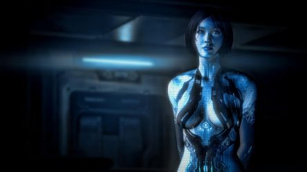 Retouched Halo 4 Cortana Wallpaper by Walter-NEST