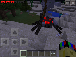 SPIDER JOCKEY by TheFloweyfanclub