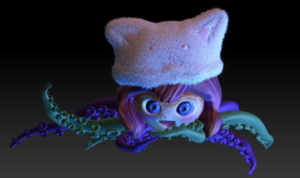 Cute And Creepy Little Monster by MoonlightBays