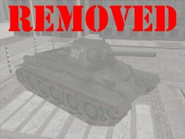 [MMD] USSR T-34 (download + video) by Wampa842