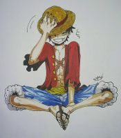 Monkey D. Luffy by MeowImAvery