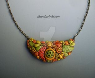 Autumn Garden Necklace by MandarinMoon