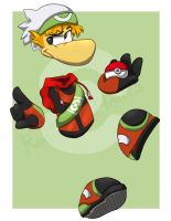 Trainer Rayman Would Like to Battle! by Atsumeh