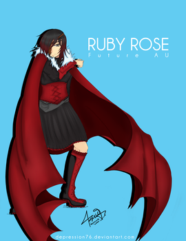 Ruby Rose -FutureAU- by depression76
