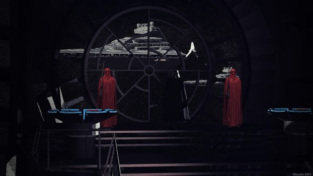Arrival of the Emperor by Edheldil3D