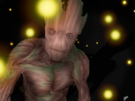 I am Groot. by Io-Andromeda