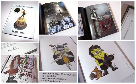 Norman Reedus Artbook: thanks for all the Niceness by GakiRules