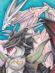 FE9/10 Dragons by giratina135